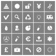 Universal Flat Vector Icons Set 3 — Stock Vector