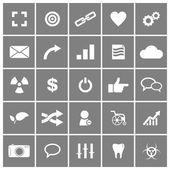 Universal Flat Vector Icons Set 4 — Stock Vector