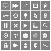 Universal Flat Vector Icons Set 2 — Stock Vector
