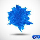 Grunge vysajte akvarel abstraktní pozadí — Stock vektor