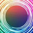 Light Circles Abstract Background. Vector Astral Background. — Векторная иллюстрация