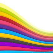 Rainbow kolorowe paski. błyszczący wektor — Wektor stockowy