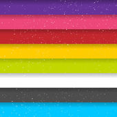 Rainbow Colored Stripes. Shiny Vector Background. Seamless Pattern — Vector de stock