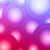 Colorful abstract background. Vector background with circles — Stock Vector