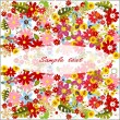Summer flower background — Stock Photo #6405806