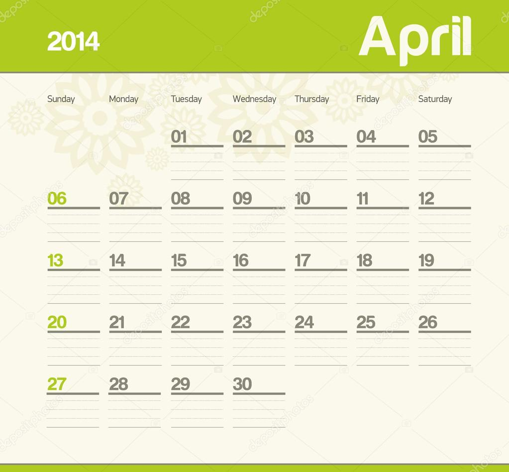 calendar 2014 april may kid calendar 2014 april cute calendar 2014 ...