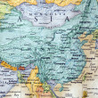 Map of china and parts of asia — Stock Photo #12228985
