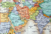 Map of Iran — Stock Photo