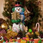 Snowman — Stock Photo #16839865