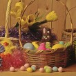 Stock Photo: Easter Baskets