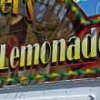 Stock Photo: Lemonade sign