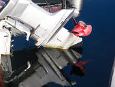Boat propeller — Stock Photo