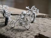 Handmade bike — Stock Photo