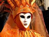 Rode masker — Stockfoto
