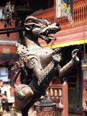 青铜雕像 — 图库照片