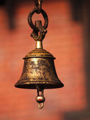 Bell in temple — Stock Photo