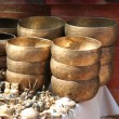 Singing Bowls - Stock Photo