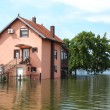 Flooded house — Stock Photo #26853351