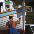Boat painting — Stock Photo #32919699