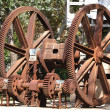 Rusty cog wheel — Stock Photo