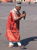 Musician in Morocco — Stock Photo