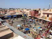 Marrakech square — Stock Photo