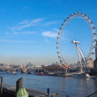 London eye — Stock Photo #40098465
