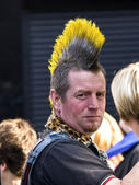 Punk haircut — Stock Photo