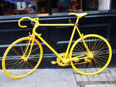 Yellow bike — Stock Photo