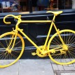 Yellow bike — Stock Photo #43453023