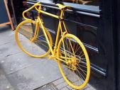 Žluté kolo — Stock fotografie
