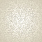 Retro seamless floral pattern — Stock Vector
