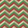 Seamless zigzag pattern for a Christmas wrapping paper — Stock Vector