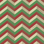 Sömlös sicksack mönster för en jul omslagspapper — Stockvektor