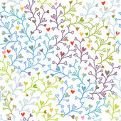Seamless doodle colorful pattern — Stockvektor