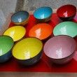Foto Stock: Colorful bowls