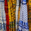 Colorful fabric of Provence — Stock Photo
