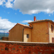 Roussillon village, France — Foto Stock