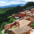 Stock Photo: Roussillon village, France