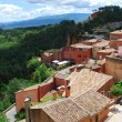 Foto Stock: Roussillon village, France