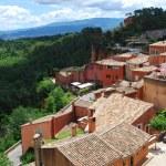 Roussillon village, France — Stock Photo #23873883