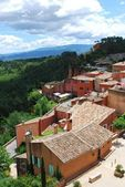 Roussillon village, France — Stock Photo