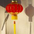 Chinese red lantern — Stock Photo