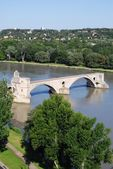 Avignon bridge, France — Stock Photo