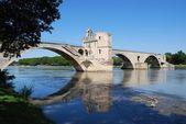 Avignon bridge, France — Stock Photo