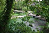 Fontaine de Vaucluse, France — Stock Photo