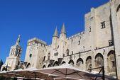Popes Palace in Avignon — Stock Photo