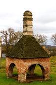 Las edades xvi del viejo castillo. ostrog. ucrania — Foto de Stock