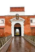Medieval Castle in Dubno — Stock Photo