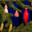 Christmas fir tree — Stock Photo #17691845